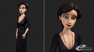 """Character development for a short film """"Amelia"""" directed by Bruno Simeos"""