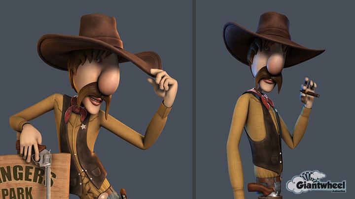 In-house CGI character 'Johny' development